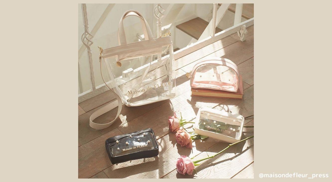 今年の夏も注目!クリア素材のアイテムを大特集♥ バッグから取り入れやすい小物まで紹介