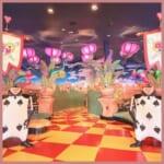 ディズニーランドの映えレストラン「クイーン・オブ・ハートのバンケットホール」のフォトスポットやメニュー、スーベニアを徹底解説!
