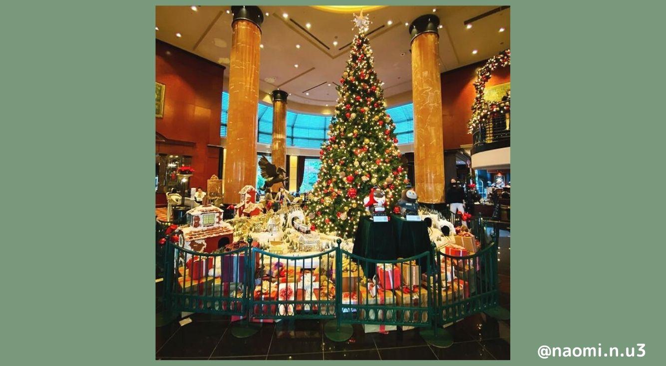 クリスマスにおススメのホテル5選!洗練されたホテルで、1年の疲れを癒そう♡