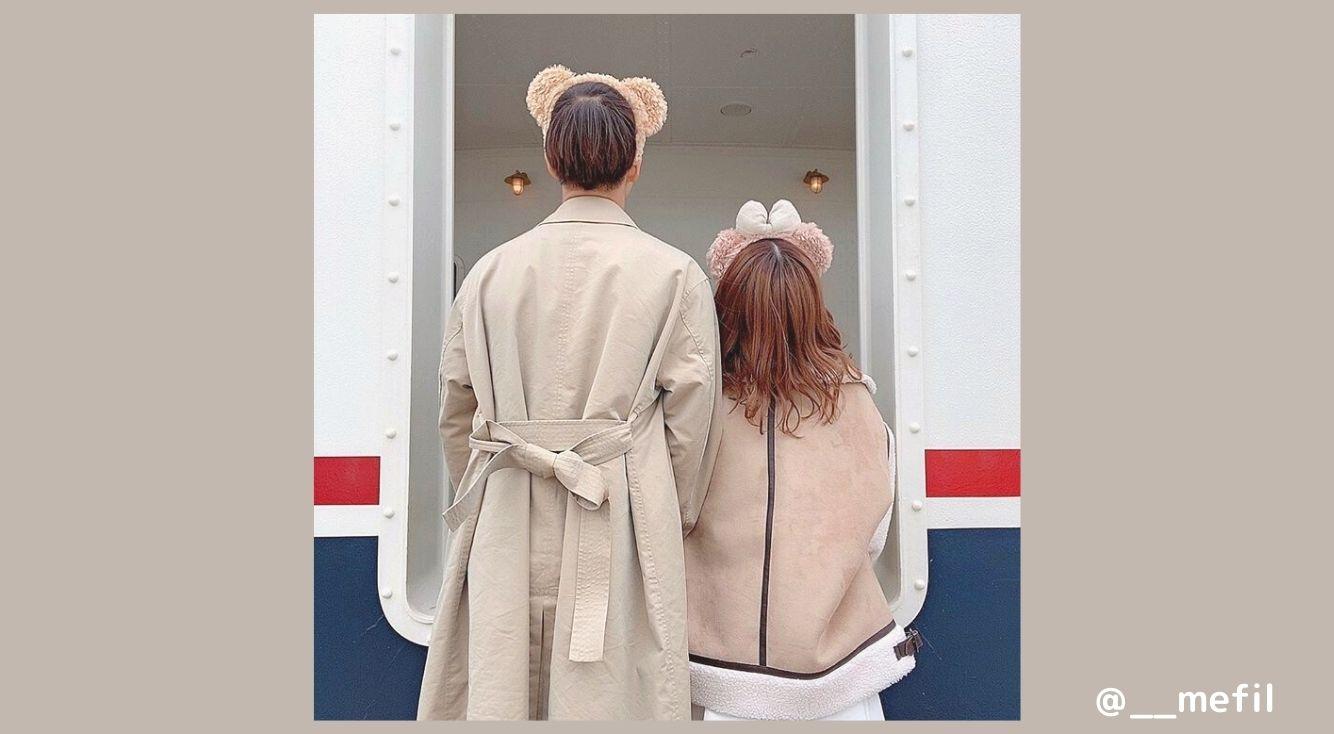冬ディズニーにおすすめなのはダッフィー&シェリーメイコーデ♡もこもこのアウターが可愛い!