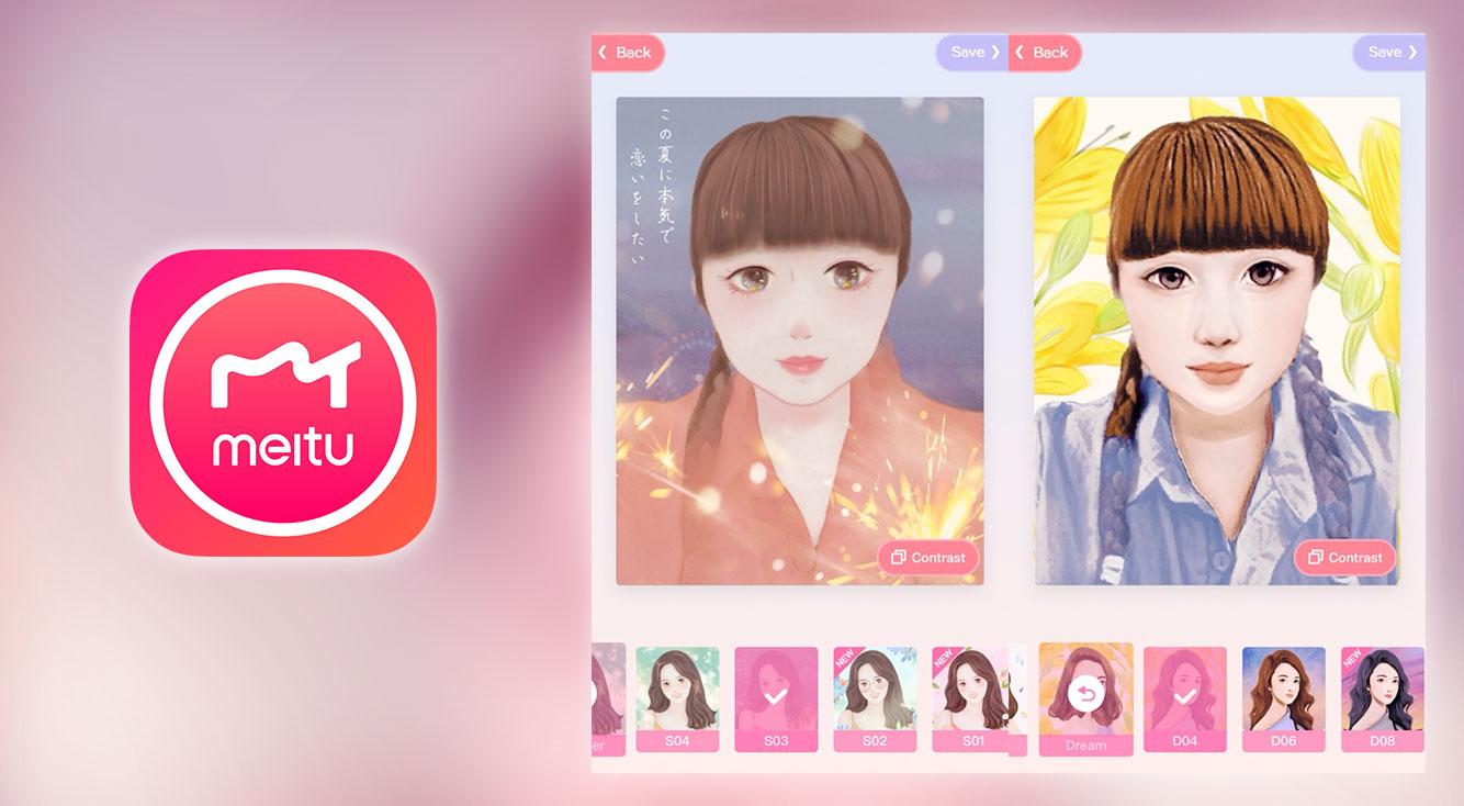 【Meitu】人気YouTuberカリブラ&東海オンエアもやってる!写真が似顔絵になるアプリ