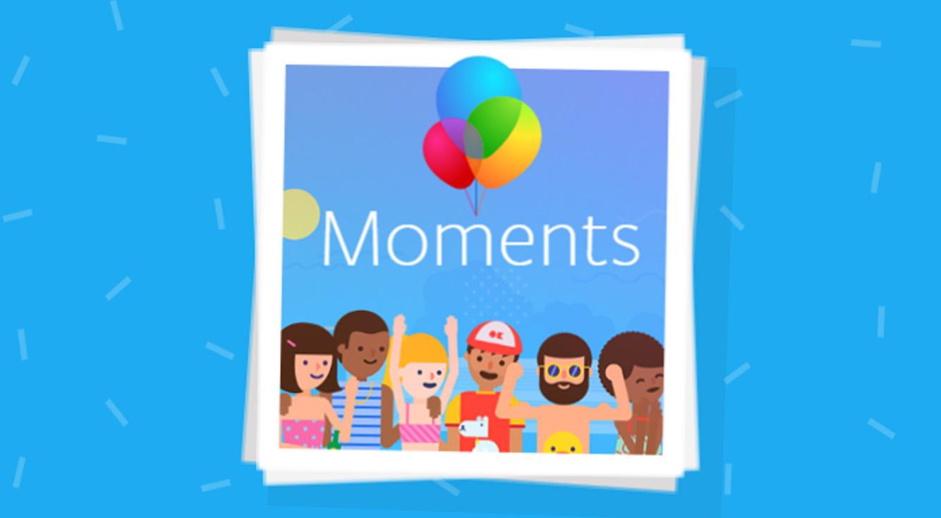 Facebookでの写真共有は「Moments」がお手軽!