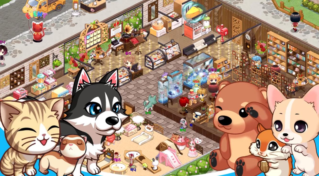 ペットといっしょにカフェ経営!かわいい育成シミュレーション♡【My Pet Village】