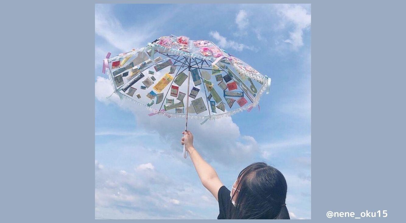 お誕生日に「お菓子傘」をプレゼントしよう♡色々なアイデアや可愛い撮り方を紹介!