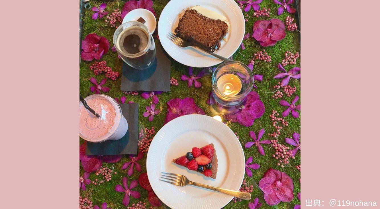 ラグジュアリーなフラワーショップ・nicolai bergmannのカフェ【ニコライバーグマン ノム】