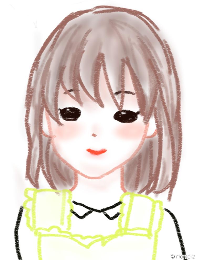 桃花作・かわいい奥さん(イメージ図)