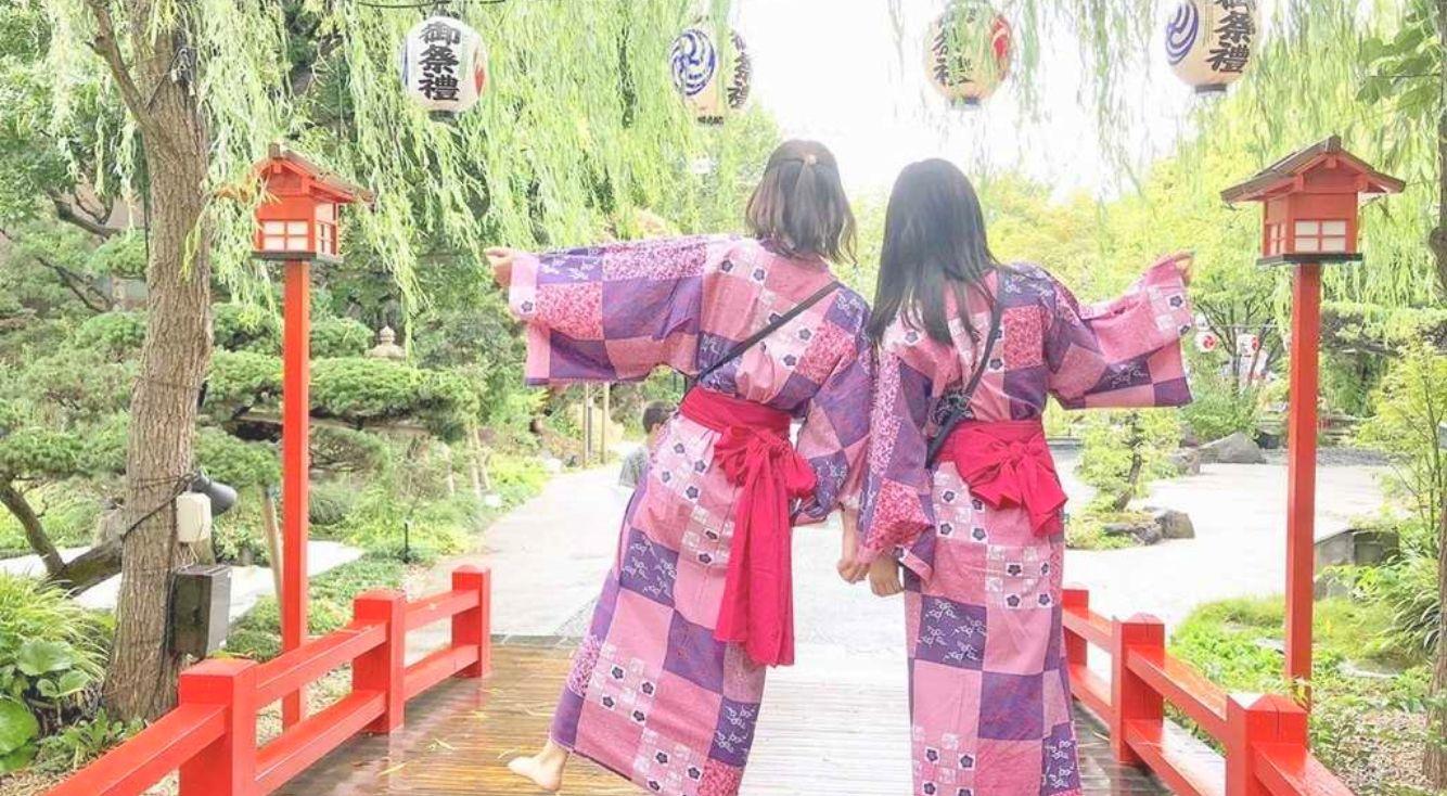 【大江戸温泉物語】浴衣や館内がインスタ映えすると話題に♡都内で日帰り温泉旅行ができちゃう!