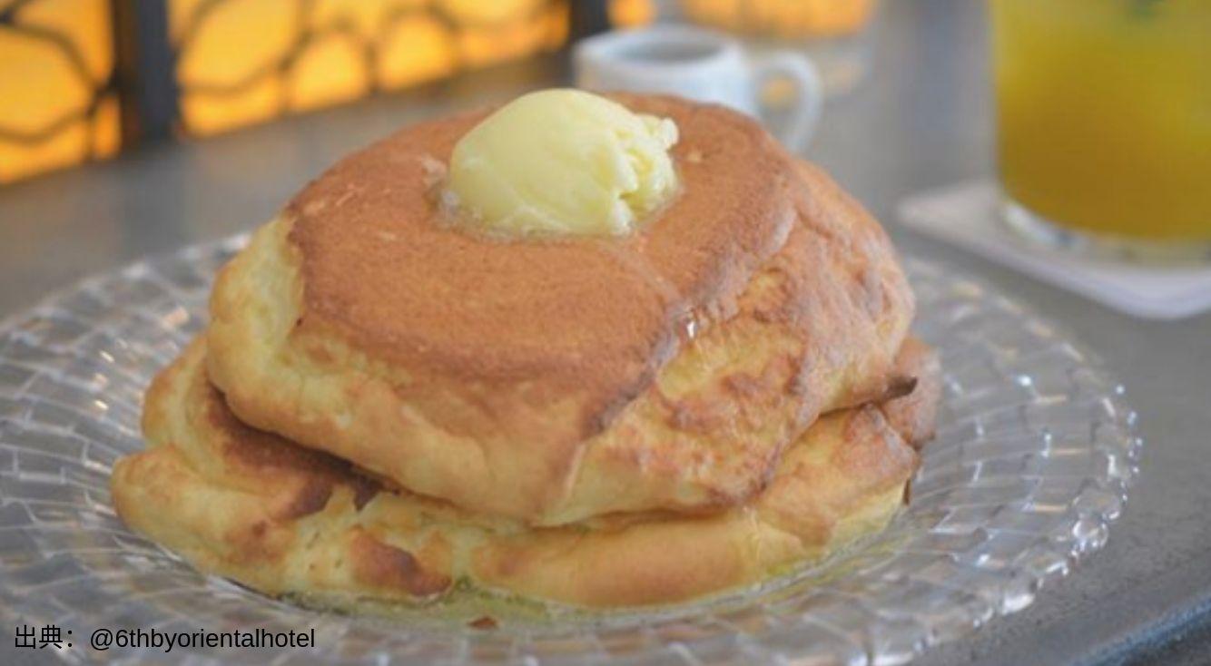 『6th by ORIENTAL HOTEL』のぶさかわなパンケーキが大人気!