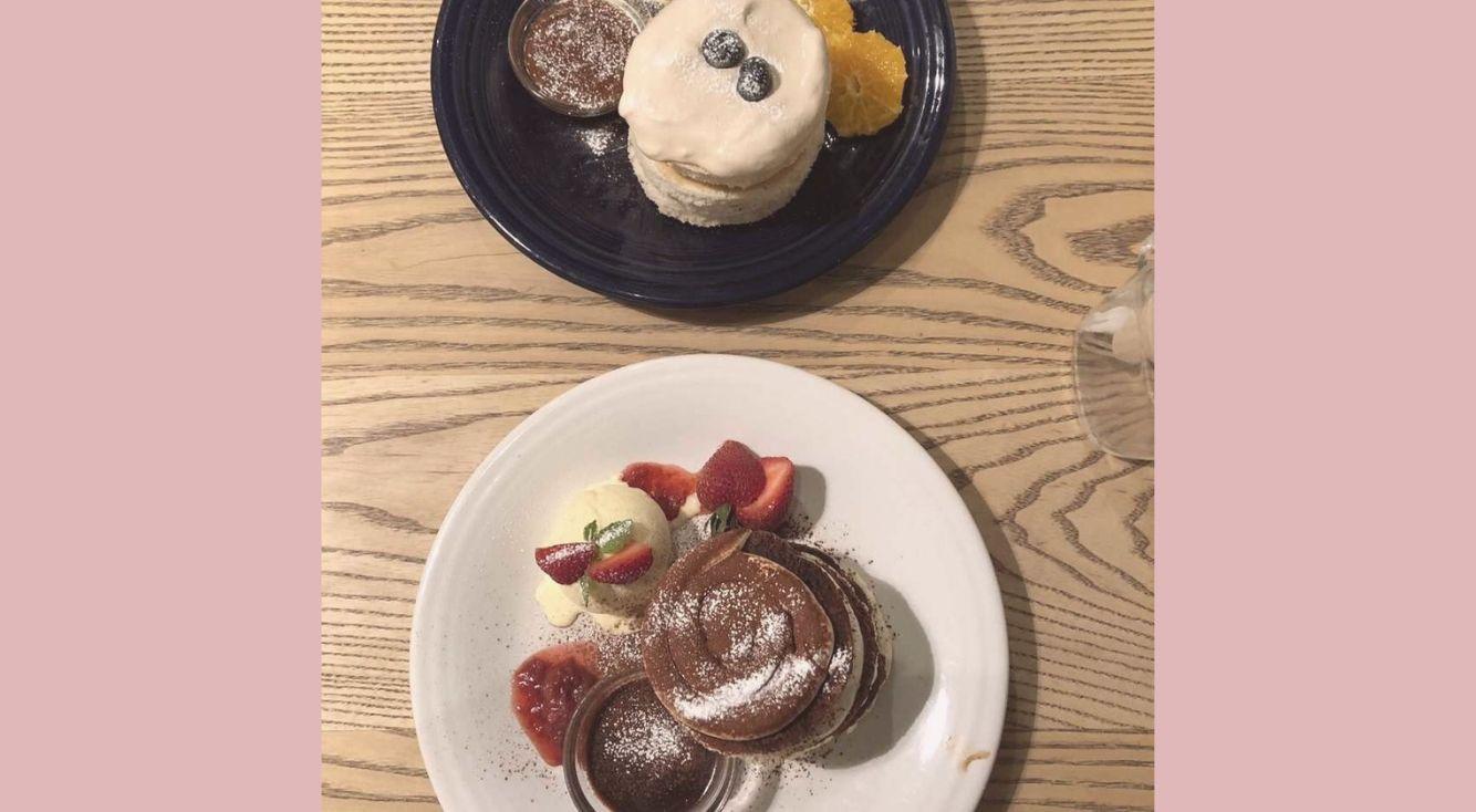 原宿にある話題のふわふわスフレパンケーキ屋さん【BURN SIDE ST CAFE(バーンサイドストリートカフェ)】