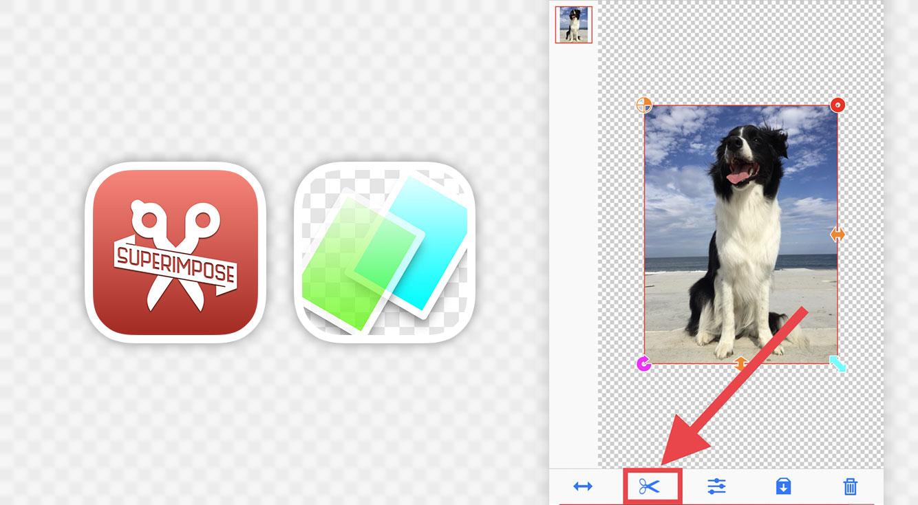 スマホだけで画像を綺麗に切り取ってスタンプ化!コラージュが捗る背景を透明にする「背景透過アプリ」紹介させて!