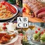 心理テスト|クリスマスグルメ、何を食べたい?答えでわかるあなたの恋愛運
