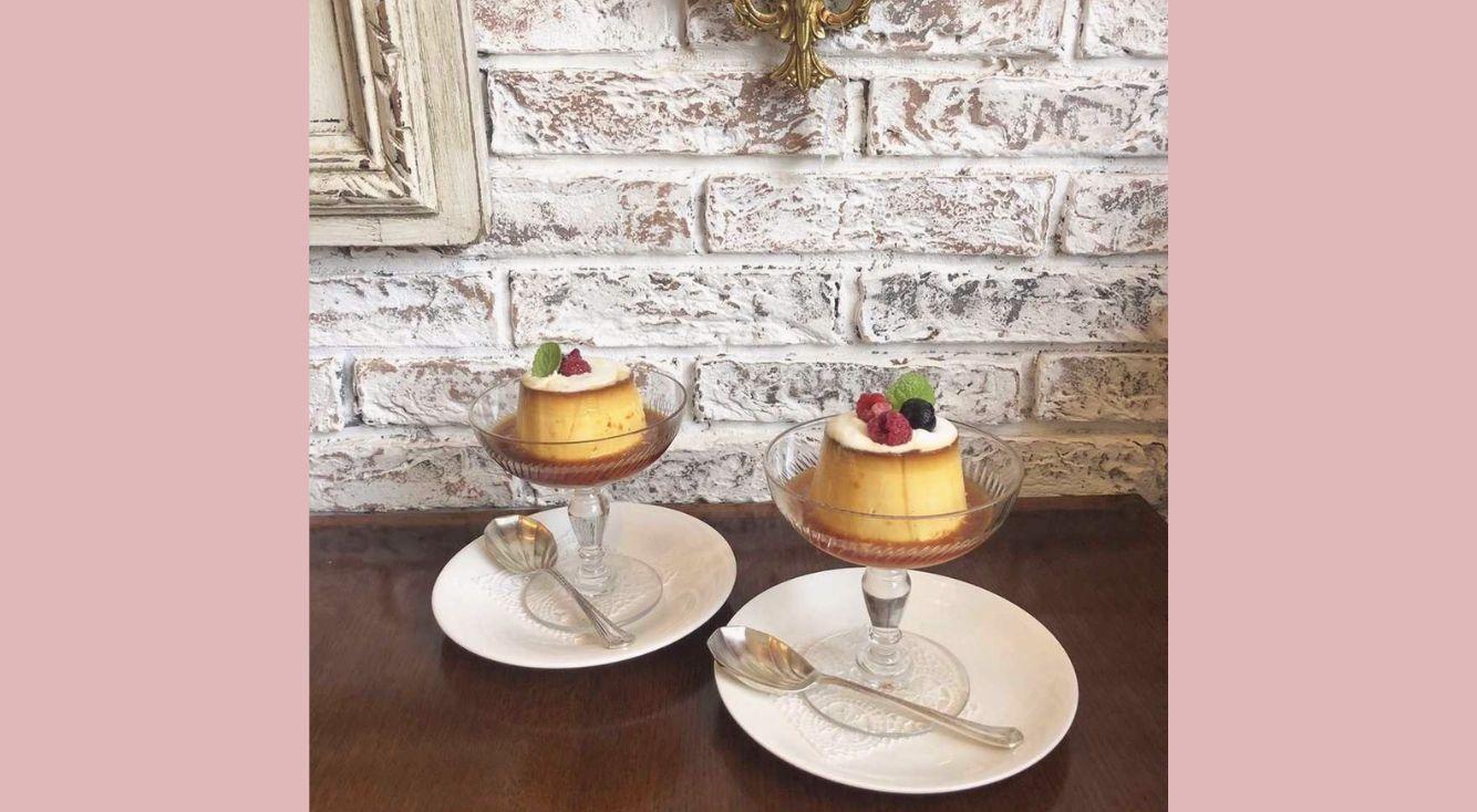 三軒茶屋【アンティークギャラリー・マジョレル】に行ってきたよ!アンティークな世界観と固めプリンがインスタで話題♡