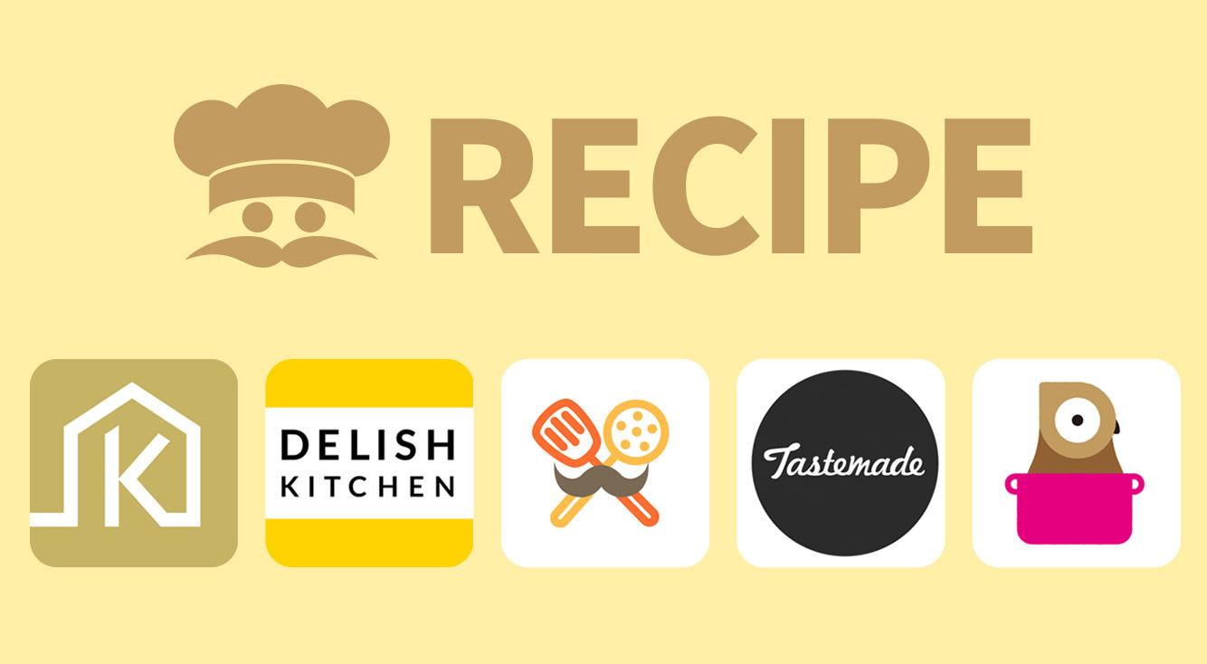 【おすすめ動画レシピアプリ5選】クラシル・デリッシュ・クックパッドなどを比べてみました。