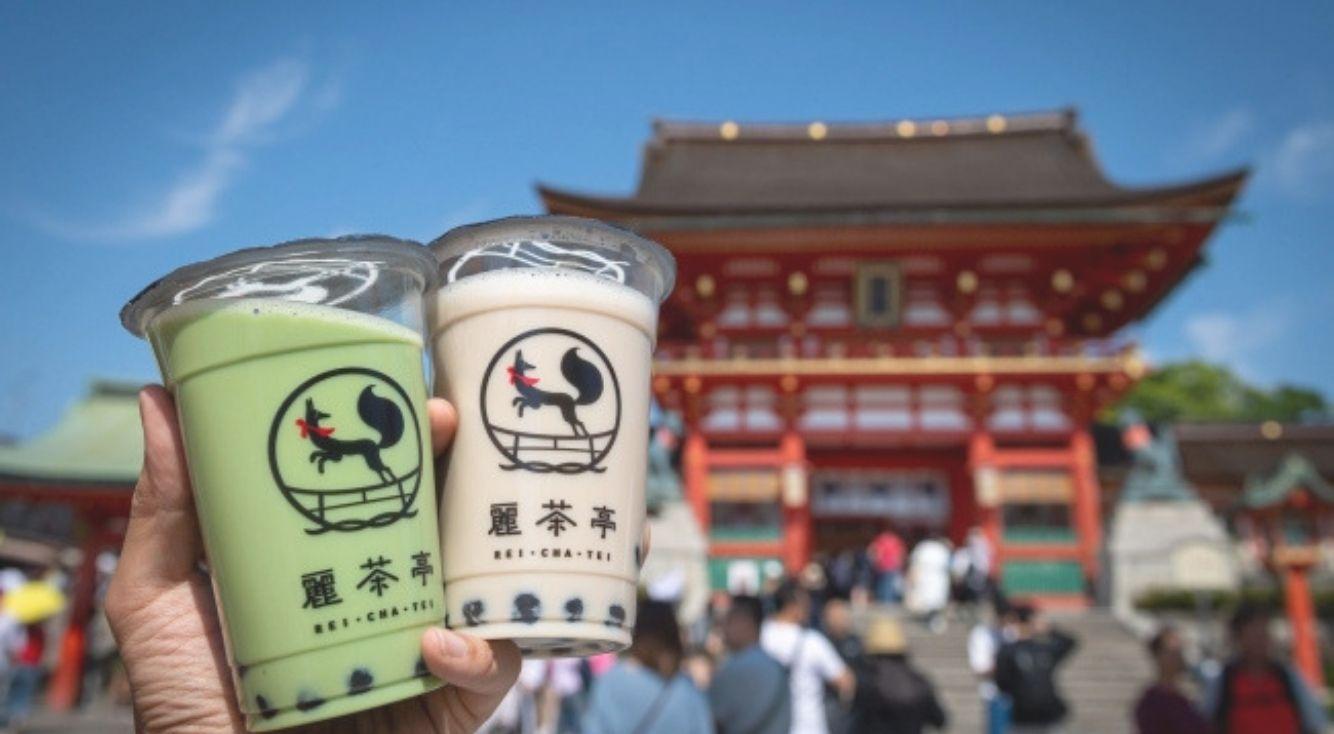 京都で口コミNo.1の日本茶タピオカ専門店『麗茶亭(れいちゃてい)』が海老名に新しくOPEN☆