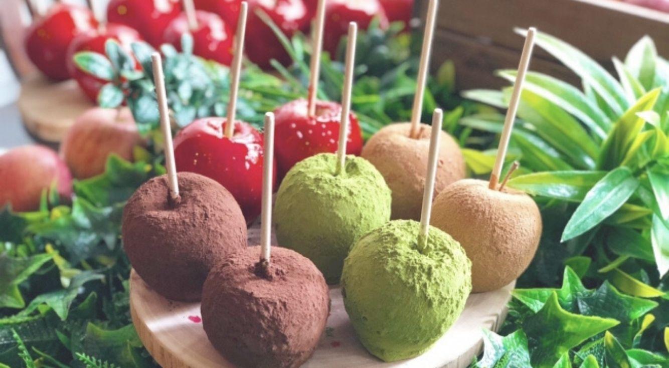 代官山にりんご飴専門店『Candy apple(キャンディーアップル)』がOPEN!期間限定で自由が丘ポップストアも開催♡
