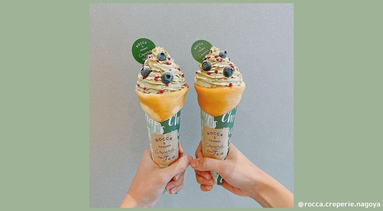 名古屋にある『ROCCA&FRIENDS CREPERIE to TEA(ロッカ&フレンズ クレープリートゥティー)』を紹介!クリスマス限定クレープが可愛いと話題♡