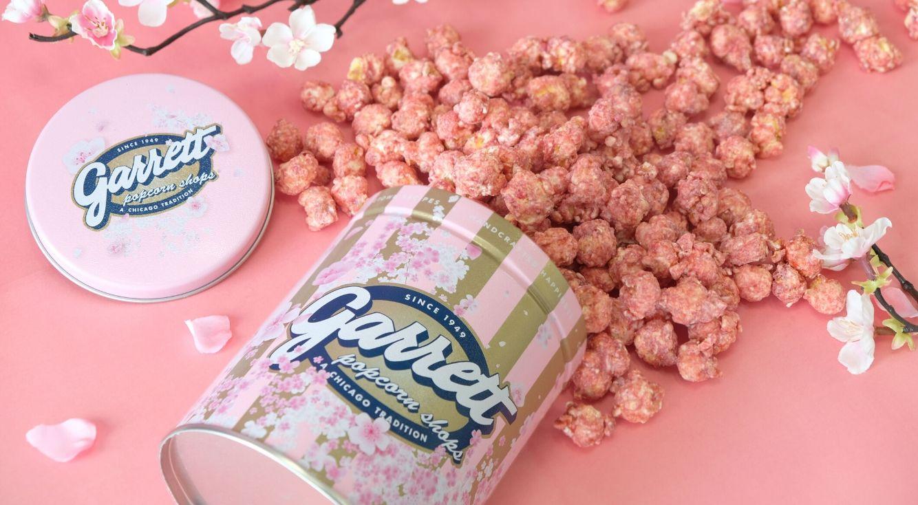 春色ときめくイチゴづくし♡ギャレット ポップコーンの新作『ベリーベリーホワイトチョコレート』 が期間限定発売!