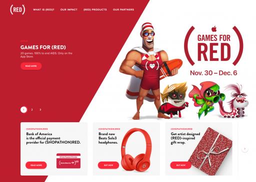 RED公式サイト