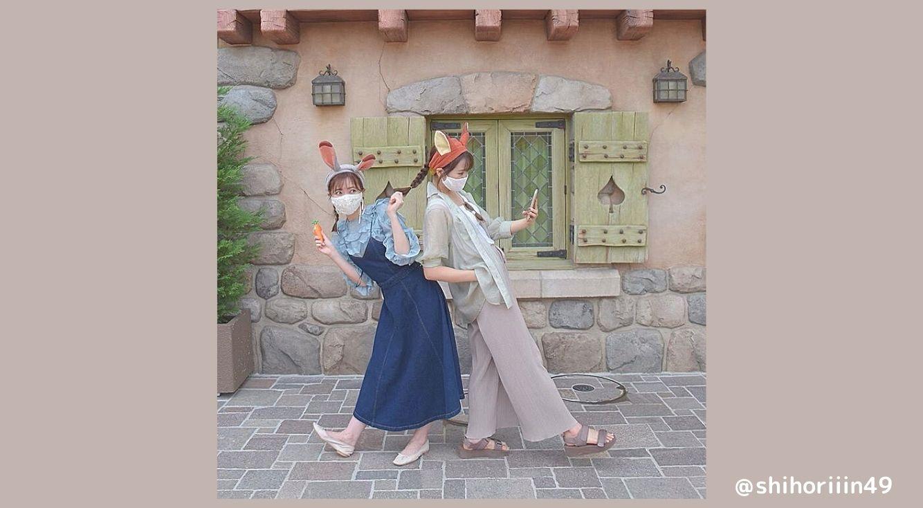 2人ディズニーにおすすめ♡ニック&ジュディコーデを紹介!カップルや友達でズートピアの名コンビを再現しよう!