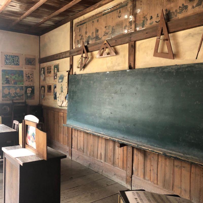 小豆島のフォトスポット二十四の瞳映画村分教場