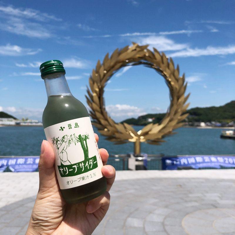 小豆島のフォトスポット土庄の月桂樹リング