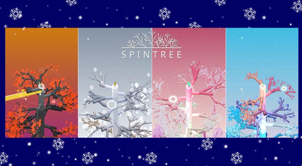 今ならイヴに向けてクリスマスツリーも?スマホで盆栽育成!