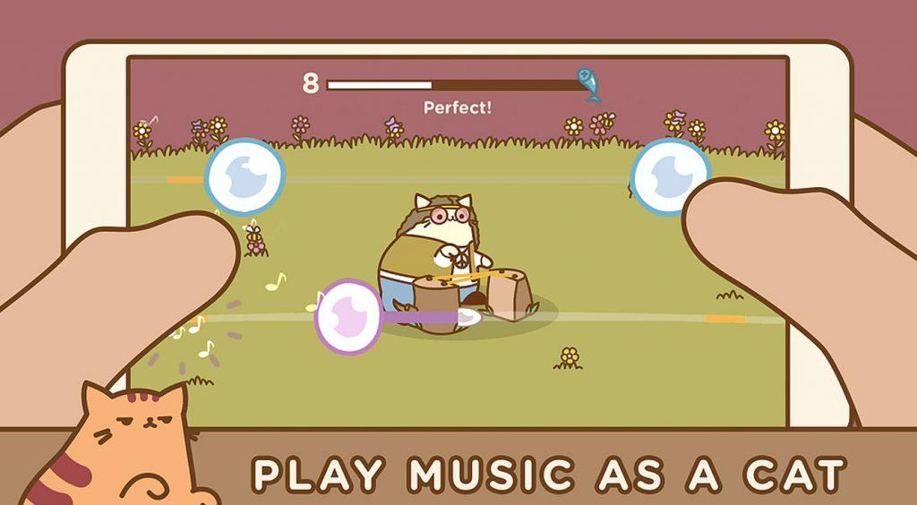 肉球×リズムゲーム♪ 猫ギターに癒されてみませんか?【Tappy Cat】