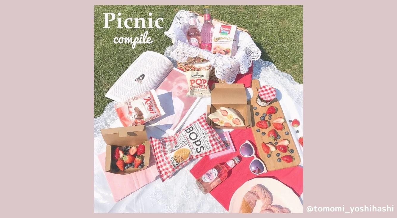 春はおしゃピクの季節♡春ピクニックにおすすめの場所や手軽に買えるスイーツを紹介します!