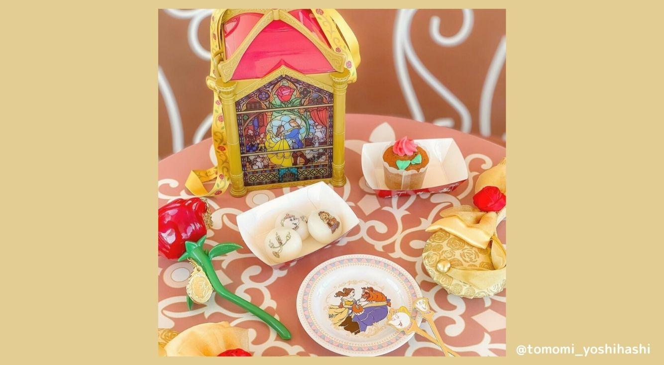 美女と野獣のキャラクターが可愛い「チーズクリームカレーもち」を紹介♡お洒落な撮り方も伝授!