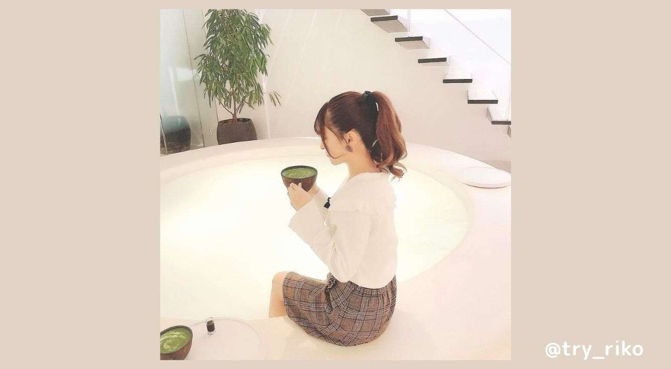 SNSで話題の足湯カフェ「YUBUNE-tokyo-」を紹介!フォトジェニックな空間で足湯と和菓子が楽しめる♡