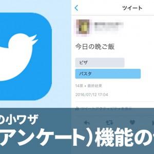 Twitterで簡単調査!【投票機能】を使ってみた