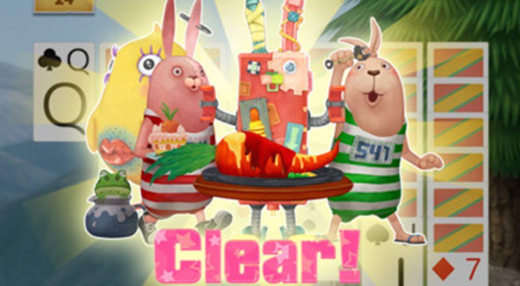 あの監獄ウサギが定番カードゲームに!【ウサビッチ ソリティアの時間】