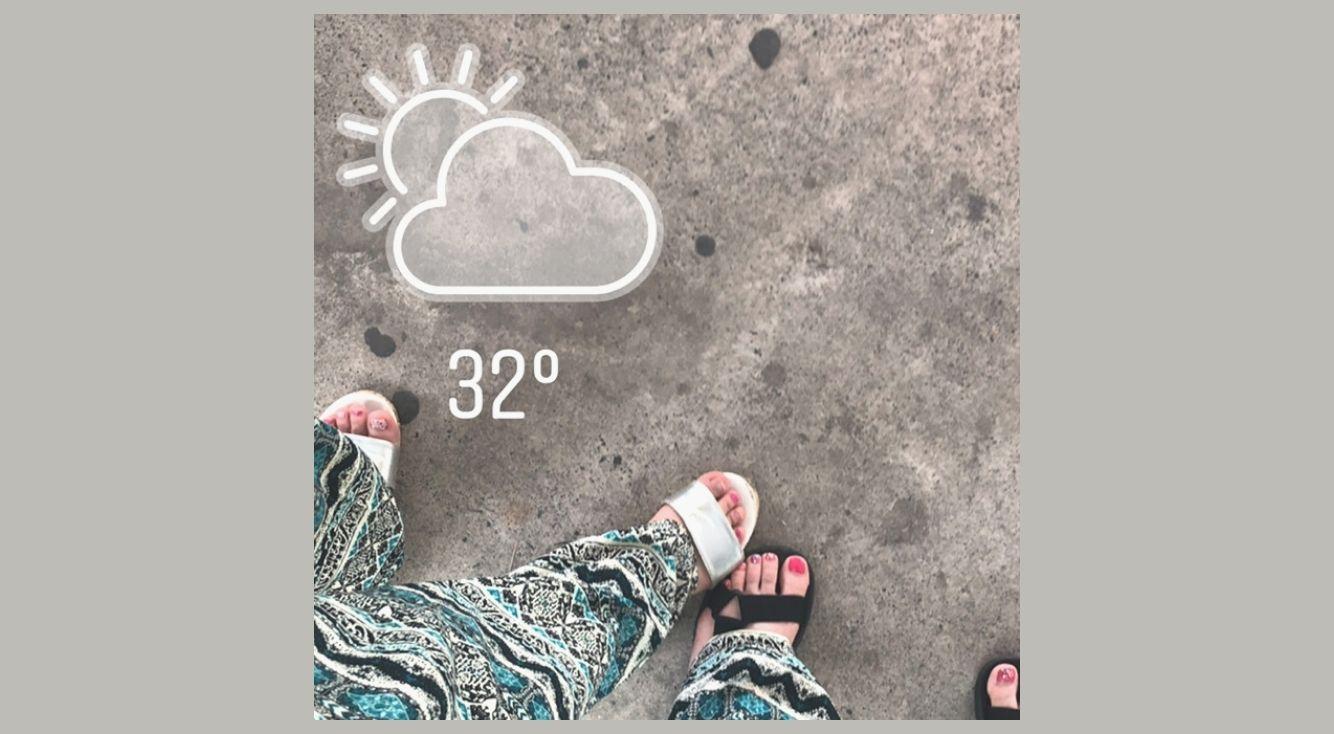 【インスタストーリー】天気マークをつけてお洒落な加工にしよう!できない時の対処法も紹介!