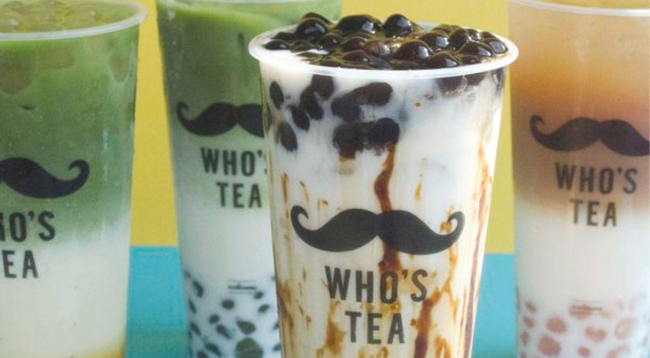 ひげマークがかわいい♡台湾発タピオカ『WHO'S TEA(フーズティー)』が 日本上陸!