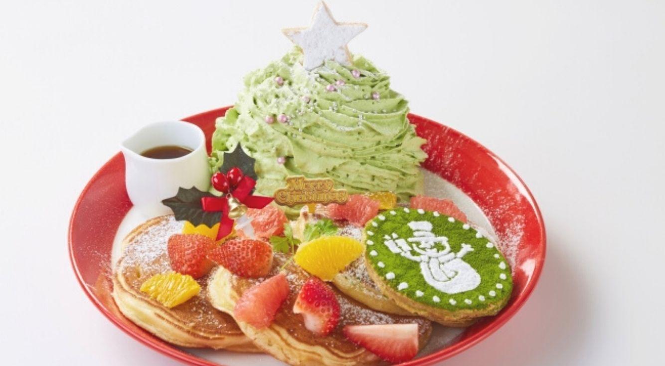 幸せの食感!新しいパンケーキに出会える、パンケーキ専門店「Butter」が「Christmas Fair~クリスマスフェア~」を開始