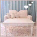 お部屋の雰囲気が決まる!ガーリー好きさんにオススメのソファー&チェアを紹介♡