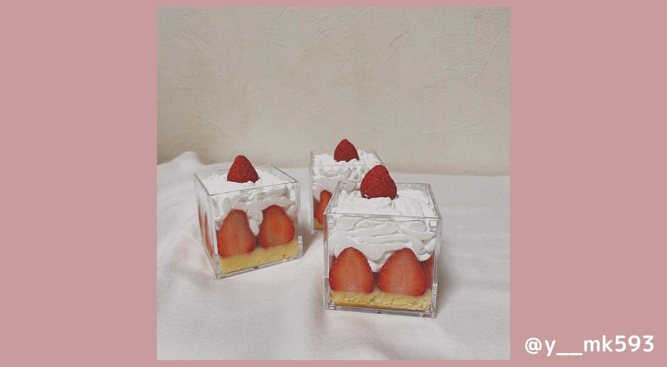 今話題の可愛すぎる「グラスケーキ」の作り方、可愛いアレンジ方法を紹介!おうちカフェで試してみて♡