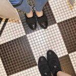 かわいい床はついつい写真を撮りたくなっちゃう♡足元を入れた写真の撮り方!